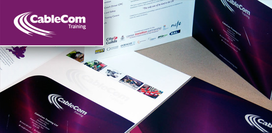 Cablecom - Brochure Design