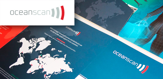 Oceanscan - Graphic Design, Brochure Design and Print