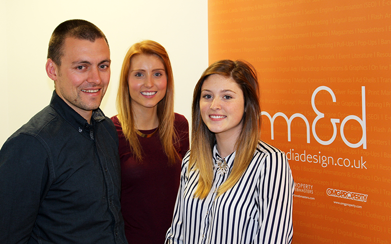 New recruits join the growing team at mm&d