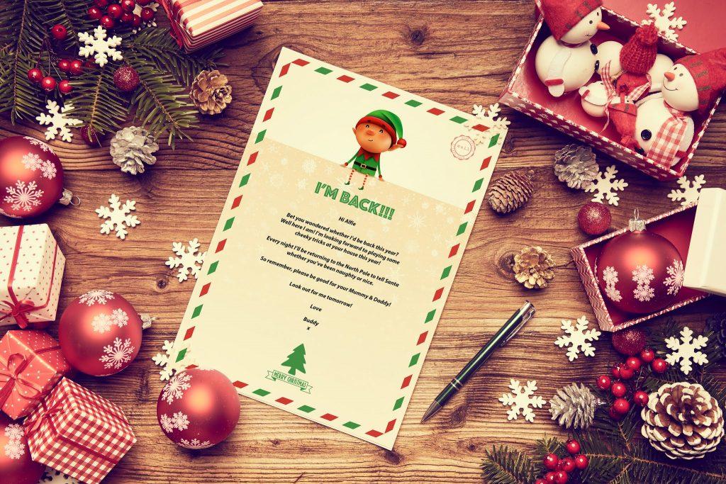 FREE Elf Letter Download